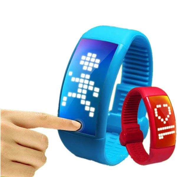 8GB Personalized Signature 3D Wrist Pedometer Smartwatch