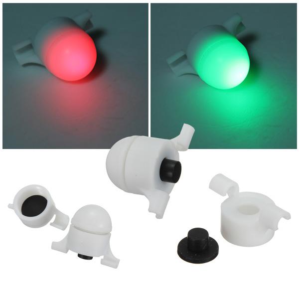 Fishing LED Rod Tip Night Light Strike Alert Glow Stick Bite Alarm