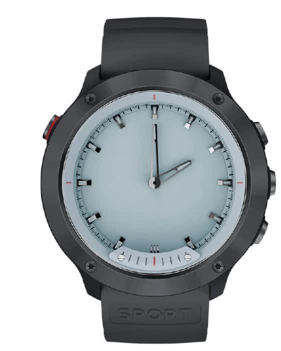 Умные часы GEOZON Hybrid Black