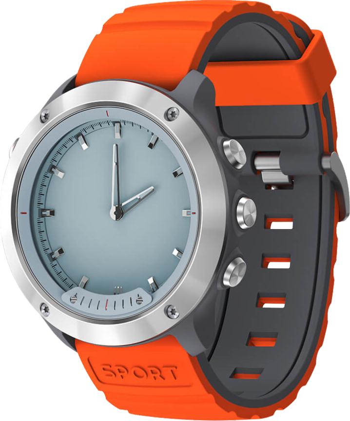 Умные часы GEOZON G-SM03SVR Hybrid Silver