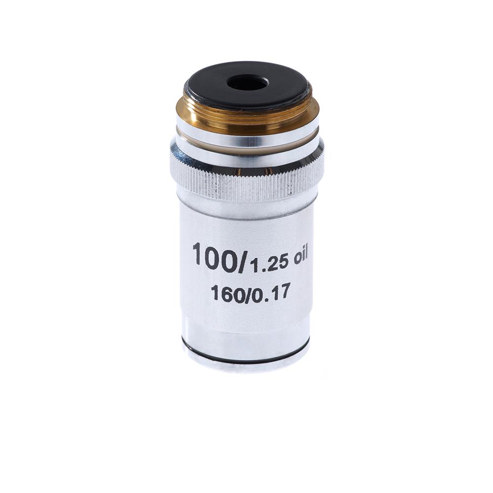 Объектив для микроскопа Микромед 100/1,25ми 160/0,17 (М 1)