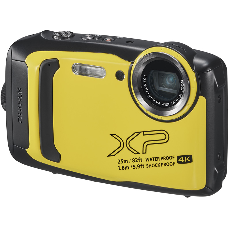 Цифровой фотоаппарат Fujifilm FinePix XP140 Yellow