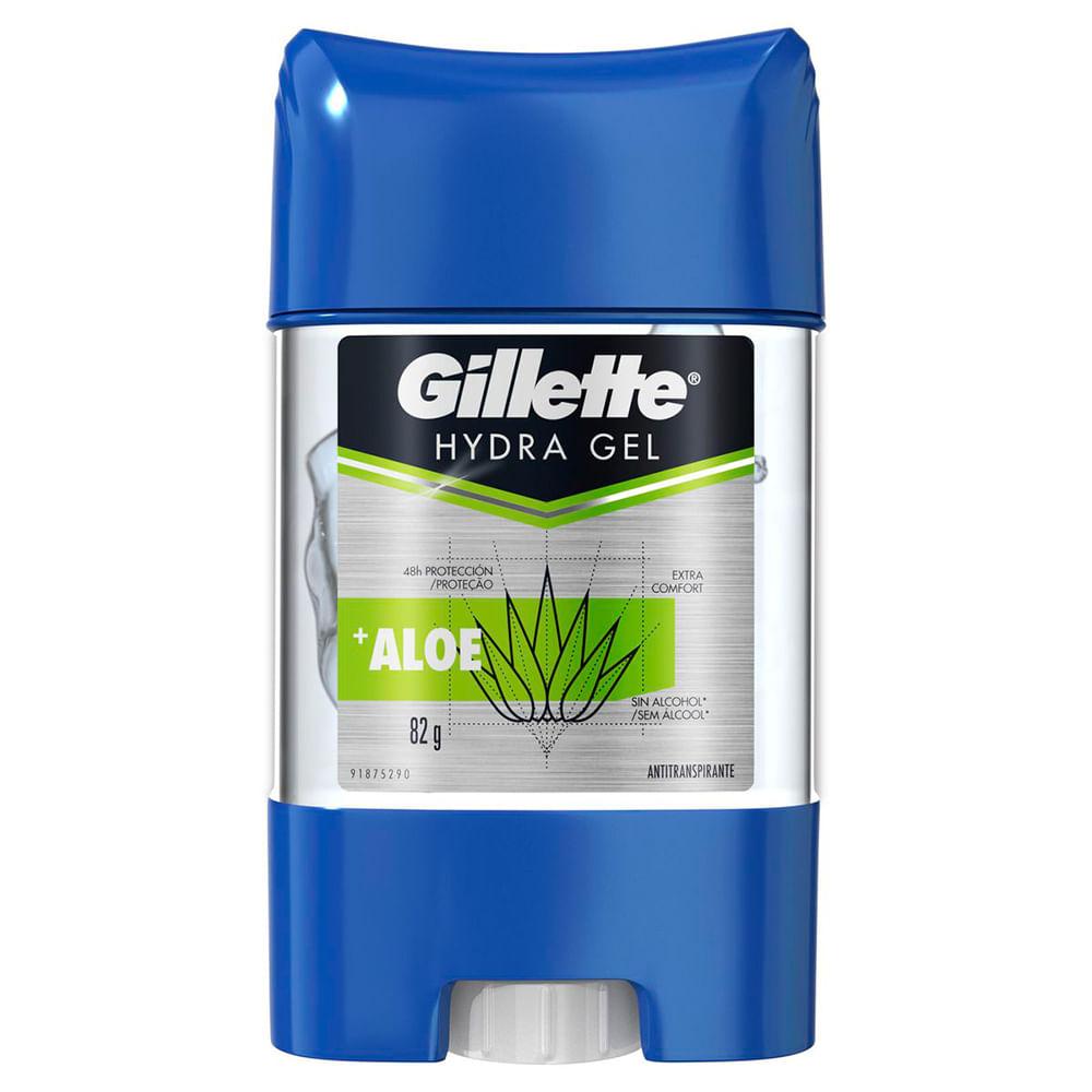 Desodorante Gel Antitranspirante Gillette Hydra Gel Aloe 82g