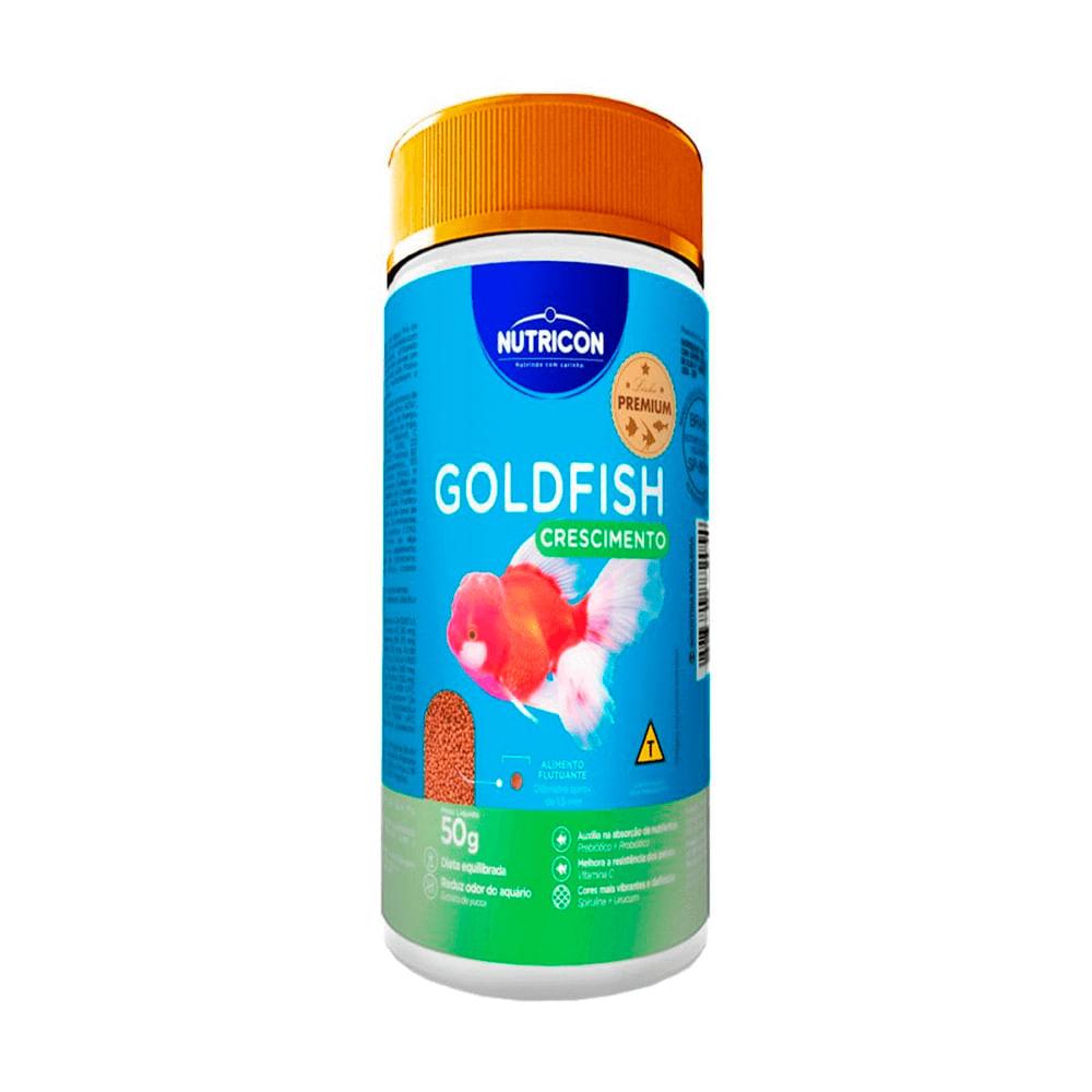 Ração para Peixes Nutricon Goldfish Crescimento 50g