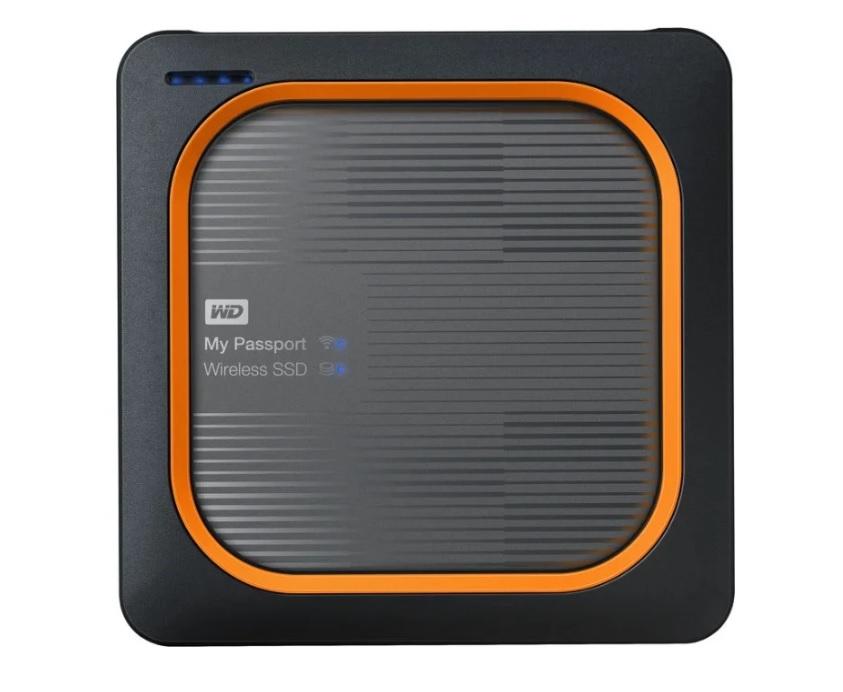 Внешний SSD WD My Passport Wireless WDBAMJ0020BGY-RESN 2ТБ