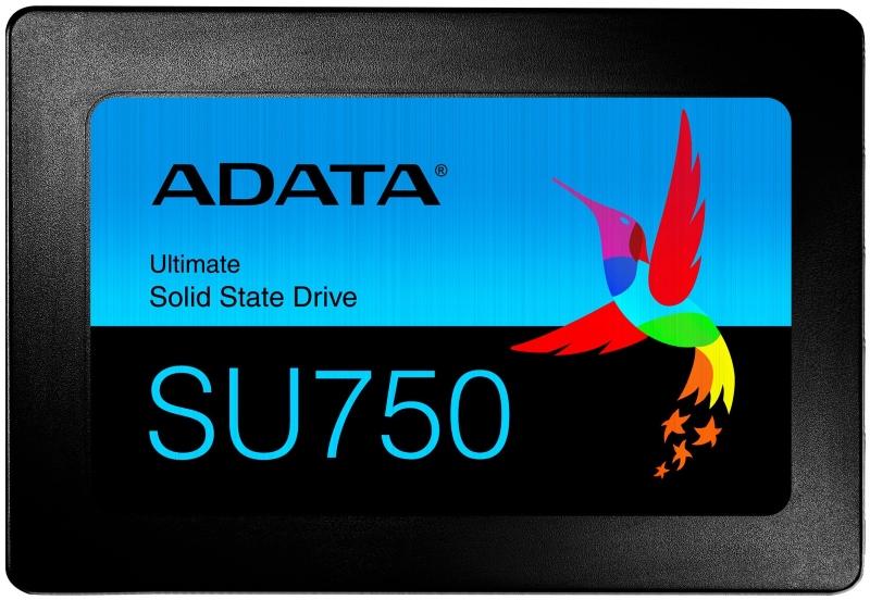 Накопитель SSD A-Data SU750SS 256Gb Black (ASU750SS-256GT-C)