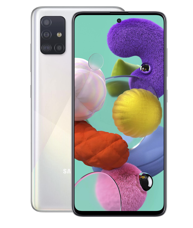 Смартфон Samsung Galaxy A51 A515F 128Gb White