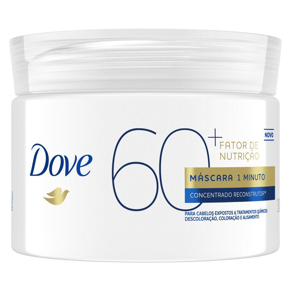 Máscara de Tratamento Dove 1 Minuto Fator de Nutrição 60+ 300g Concentrado Reconstrutor