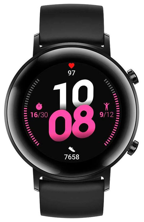 Умные часы Watch GT 2 Sport 42 mm Diana-B19S черная ночь