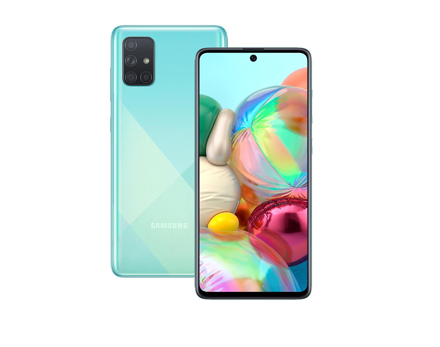 Смартфон Samsung Galaxy A71 A715F 128Gb Blue