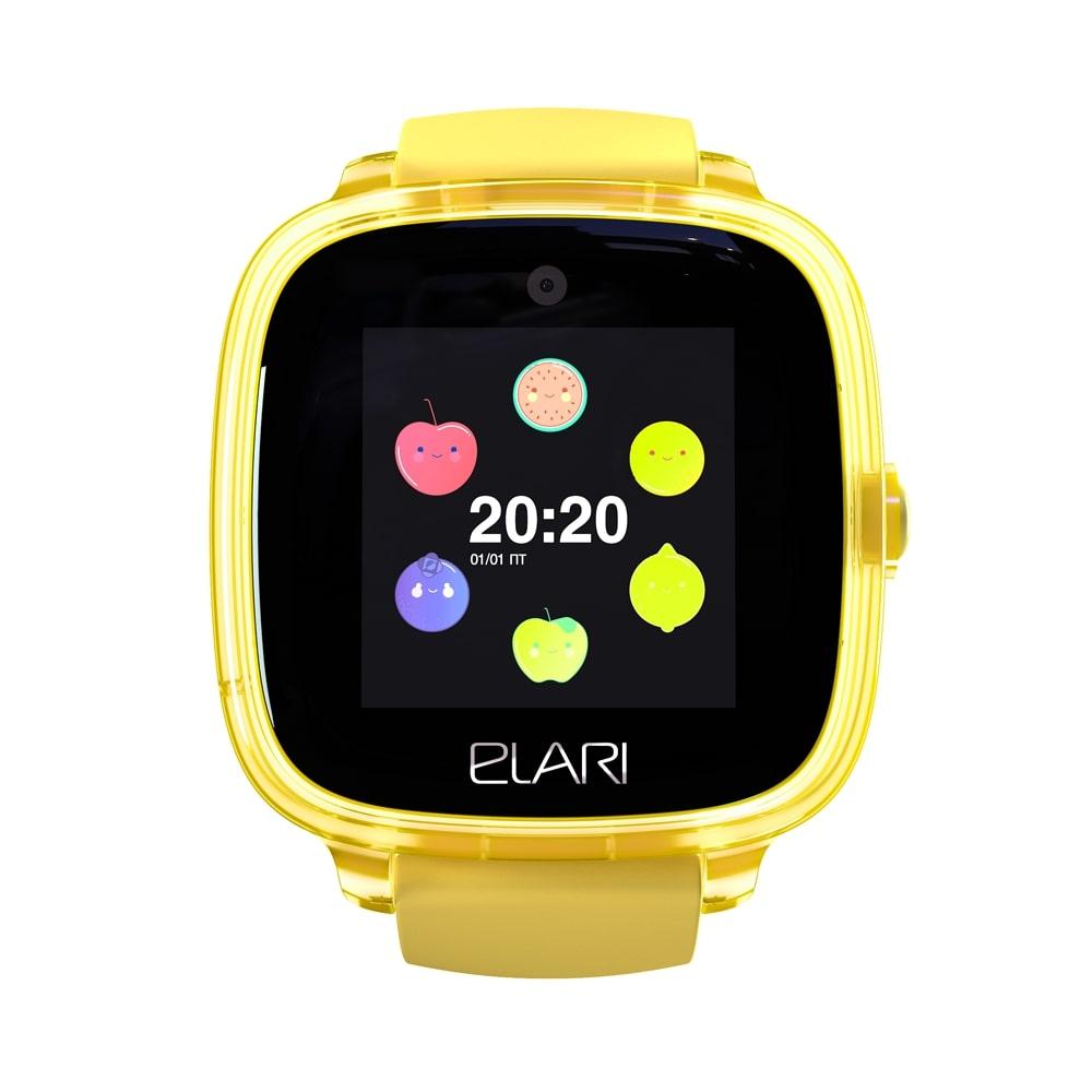 Детские умные часы Elari Kidphone Fresh Желтые