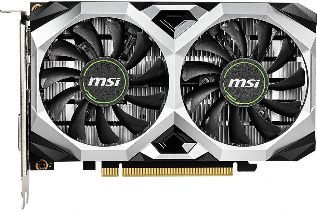 Видеокарта MSI GTX 1650 4096Mb (GTX 1650 VENTUS XS 4G OC)