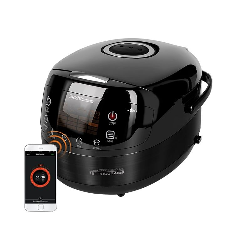 Мультиварка Redmond SkyCooker RMC-M903S 5л 1000Вт черный/серебристый