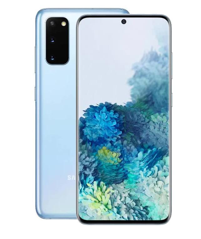 Смартфон Samsung Galaxy S20 G980 Light BLue
