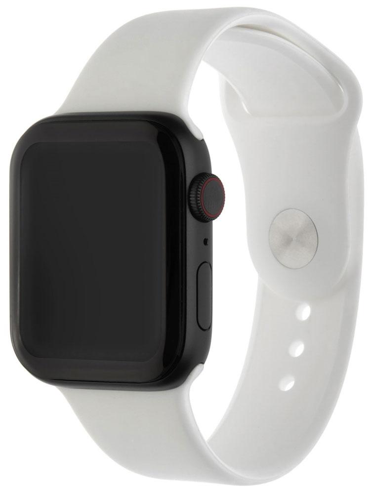 Ремешок для умных часов InterStep Sport Apple Watch 42/44мм силиконовый White