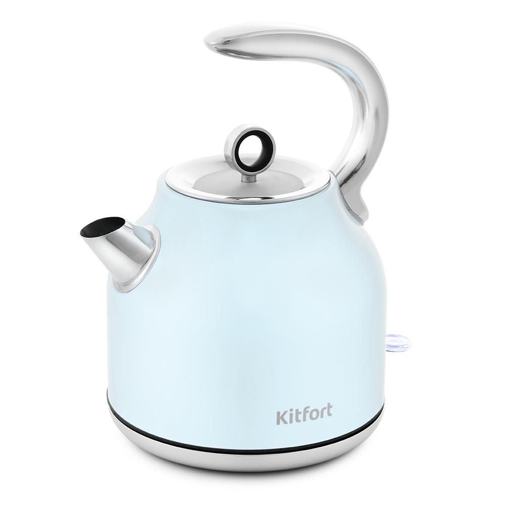 Чайник Kitfort КТ-675-2 голубой