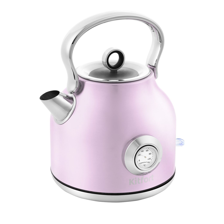 Чайник Kitfort КТ-673-4 розовый