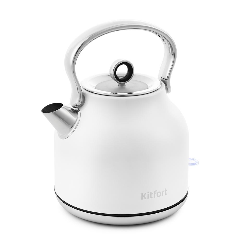 Чайник Kitfort КТ-671-1 белый