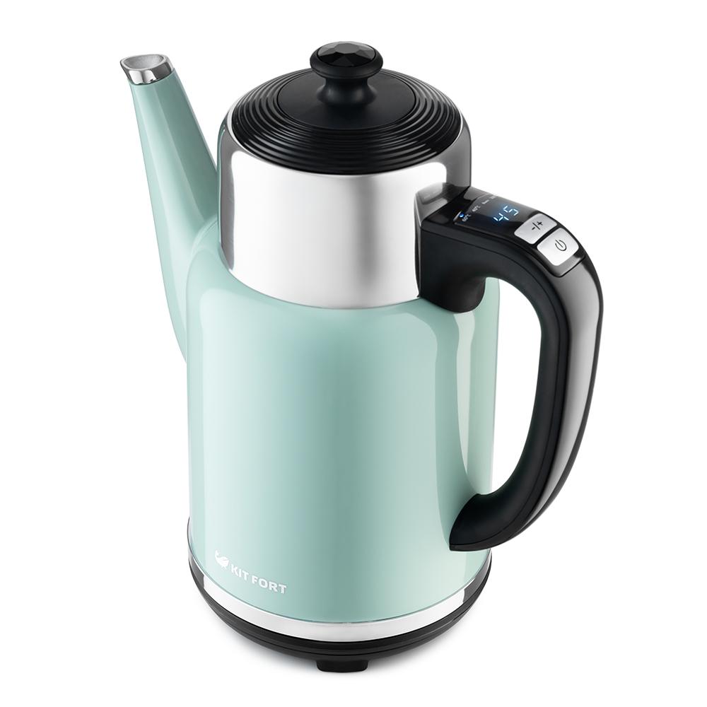 Чайник Kitfort КТ-668-3 зеленый