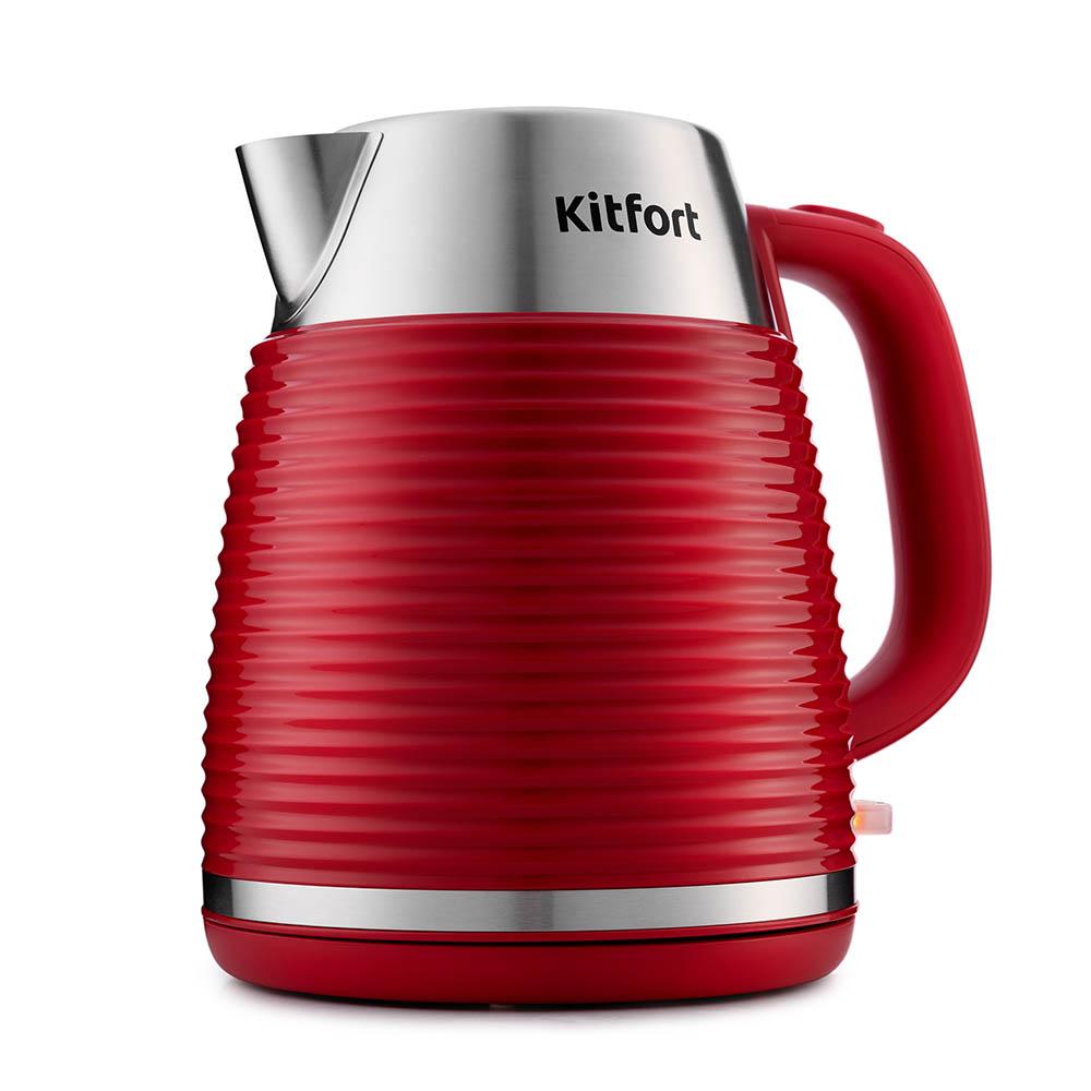 Чайник Kitfort КТ-695-2 красный