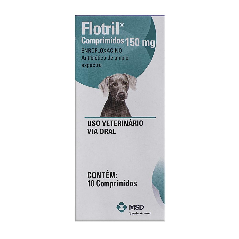 Flotril 150mg para Cães Uso Veterinário com 10 Comprimidos