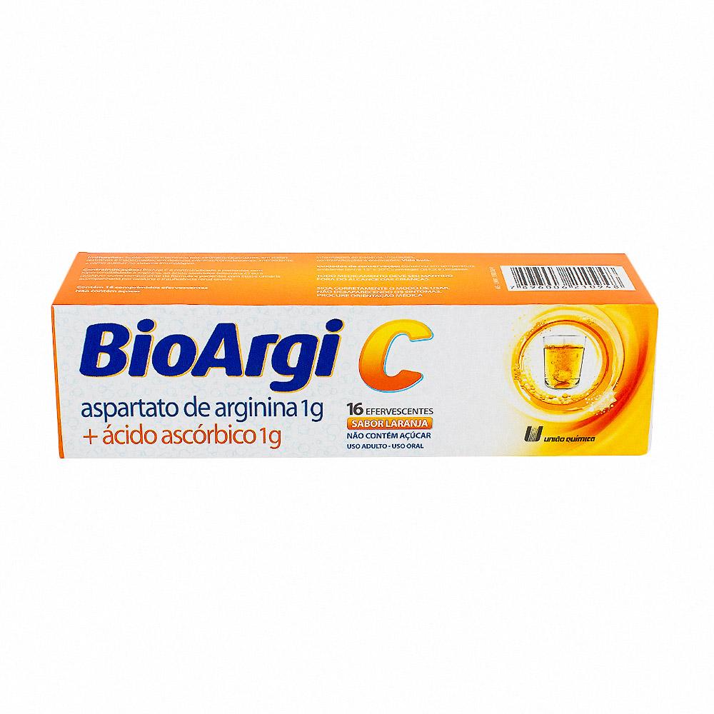 BioArgi C Comprimidos Efervescentes com 16 Unidades