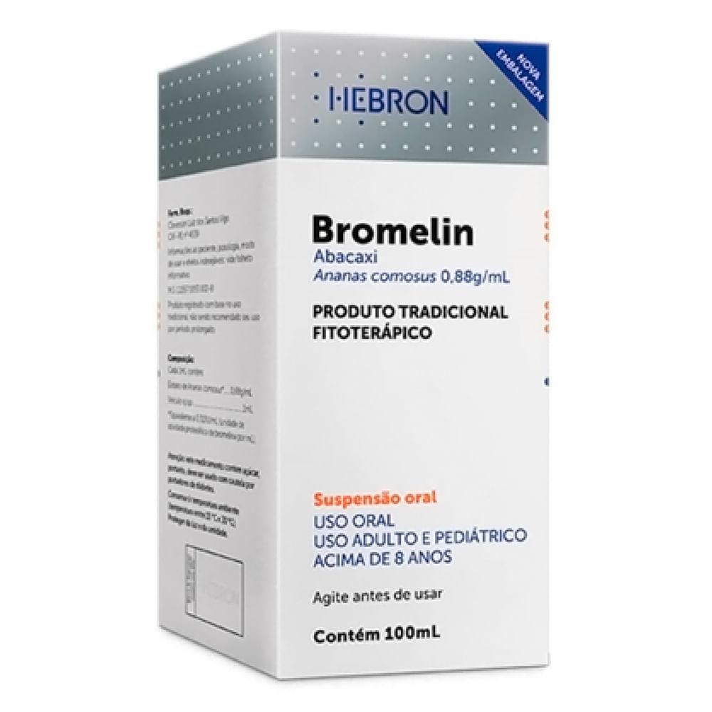 Bromelin Suspensão Oral com 100ml