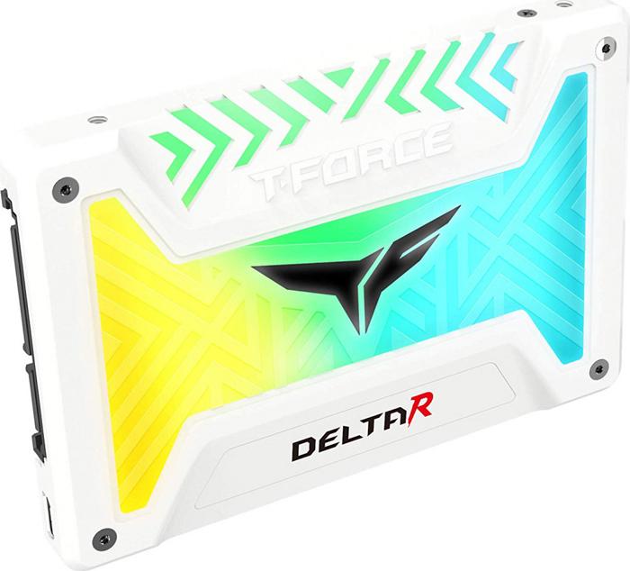 Накопитель SSD Team Group Delta R 250Gb (T253TR250G3C415) White