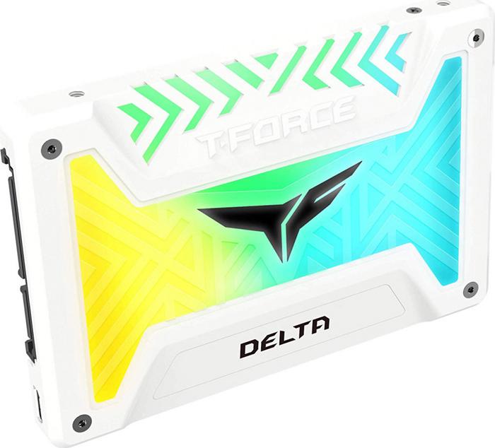 Накопитель SSD Team Group Delta 250Gb (T253TR250G3C413) White