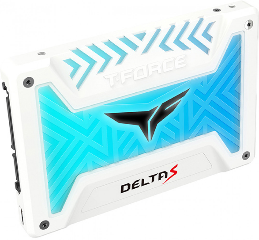 Накопитель SSD Team Group Delta S 500Gb (T253TR500G3C412) White