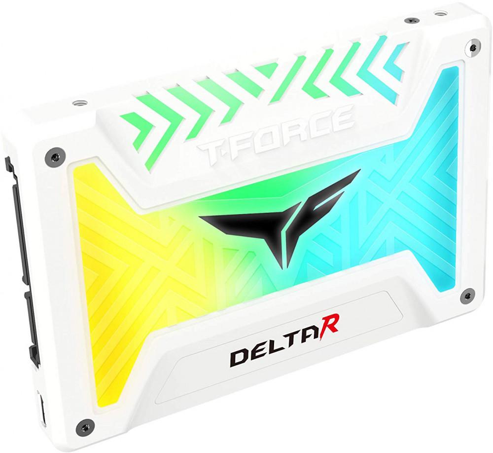 Накопитель SSD Team Group Delta R 1Tb (T253TR001T3C415) White