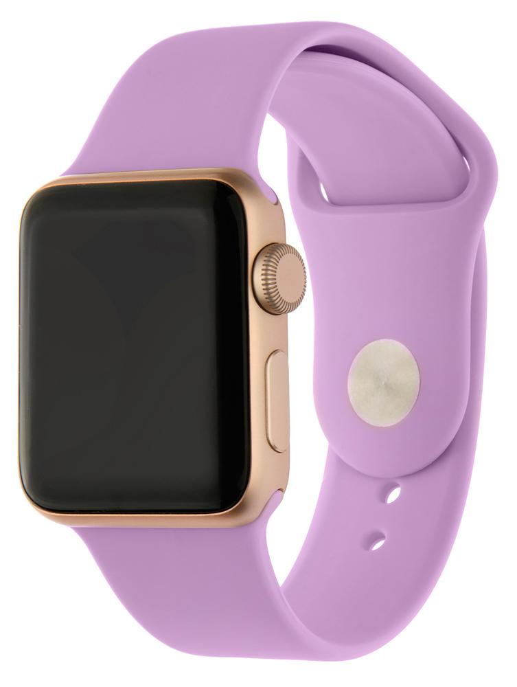 Ремешок для умных часов InterStep Sport Apple Watch 38/40мм силиконовый Purple