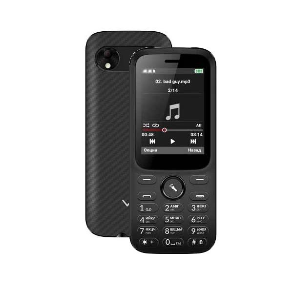 Мобильный телефон Vertex D555 Black