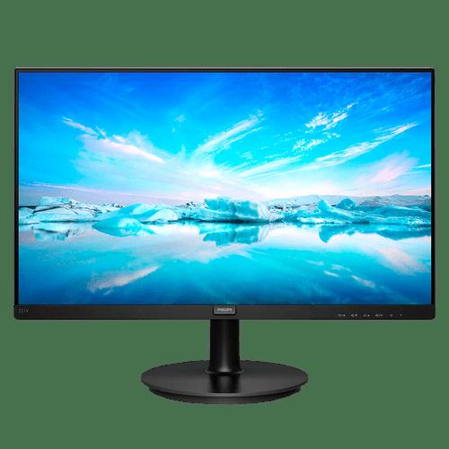 Monitor Philips 221V8/57 21.5 Polegadas LCD 4MS Conexão VGA HDMI 1920 x 1080 (FULL HD) VESA