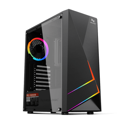 PC Gamer Neologic NLI81934 Intel i3-10100 8GB (RX 550 4GB) 1TB