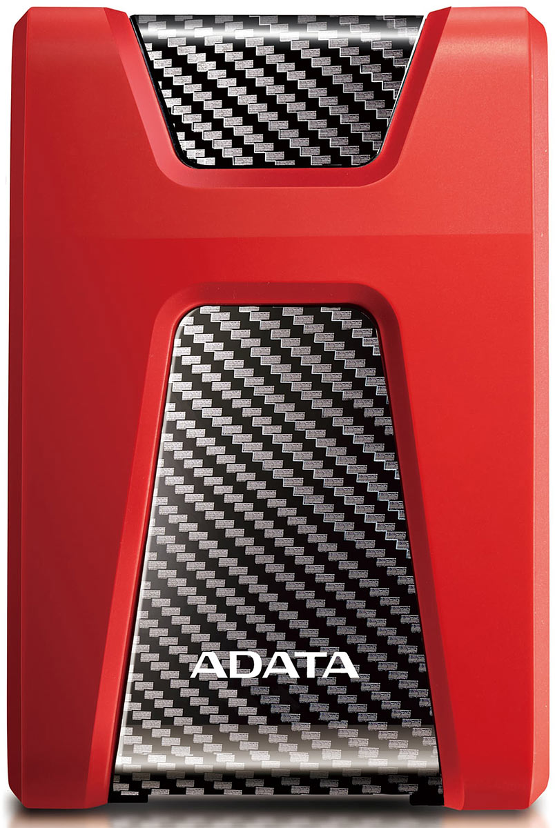 "Внешний HDD A-DATA 2TB HD650 25"" USB 3.1 красный (AHD650-2TU31-CRD)"