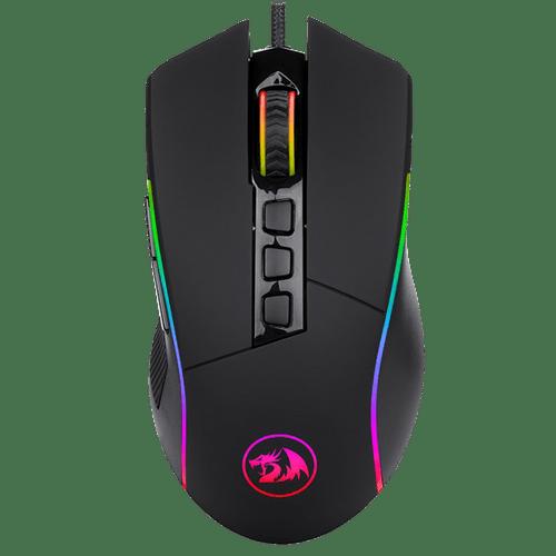 Mouse Gamer Redragon Lonewolf 2 PRO M721-PRO RGB 32000 DPI 10 Botões Programáveis Preto