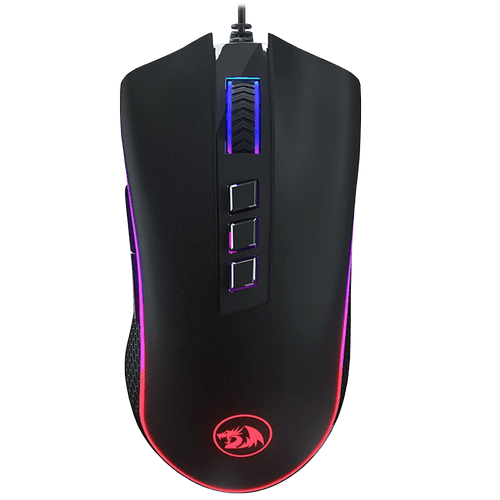 MOUSE GAMER KING COBRA M711-FPS 10000DPI REDRAGON RGB LIGHT