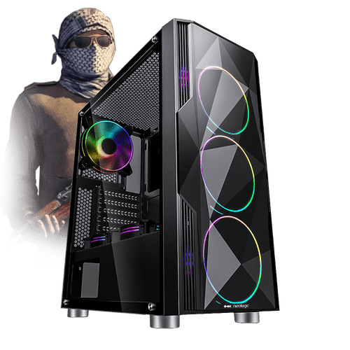 Pc Gamer E-Sports Neologic NLI81708 Intel i5-9400F 8GB (GTX 1660 6GB) 1TB