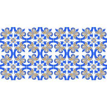 Adesivo de Azulejo X4 Adesivos Decorativo Colorido  Az26 P