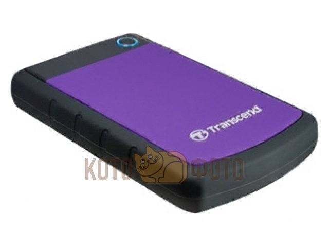Внешний HDD Transcend StoreJet 25H3 1Tb Blue (TS1TSJ25H3B)