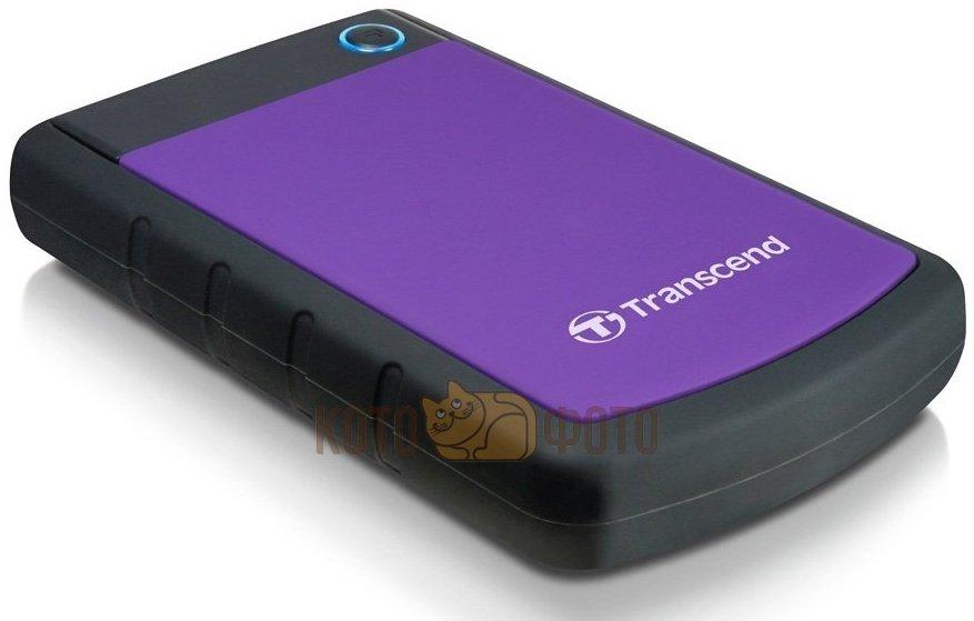 Внешний HDD Transcend StoreJet 25H3 1Tb Purple (TS1TSJ25H3P)