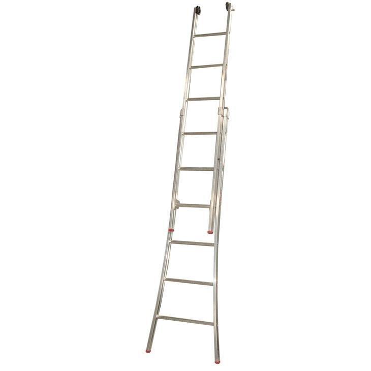 Escada de Alumínio Alulev, 2 x 10 Degraus - ED110