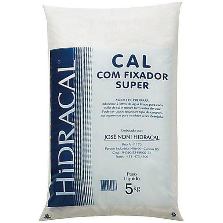 Cal Hidracal com fixador, 5 Kg