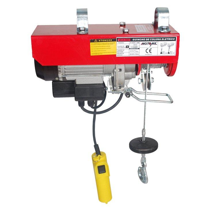 Guincho Monofásico Motomil, 1000 watts, 600 Kg - H-A105