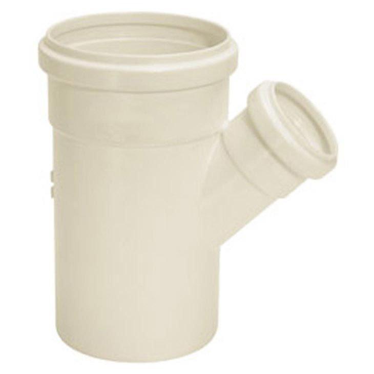 Junção Simples de Redução para Esgoto Série Normal Amanco 150 x 100 mm, Branco - 11398