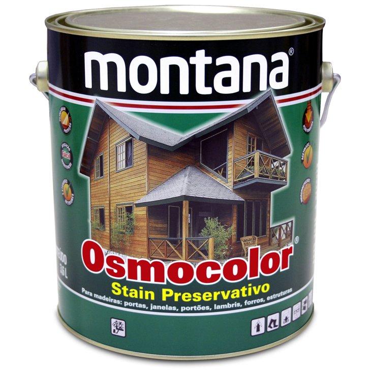 Tinta Osmocolor Stain Montana, Imbuia - Galão 3,6 Litros