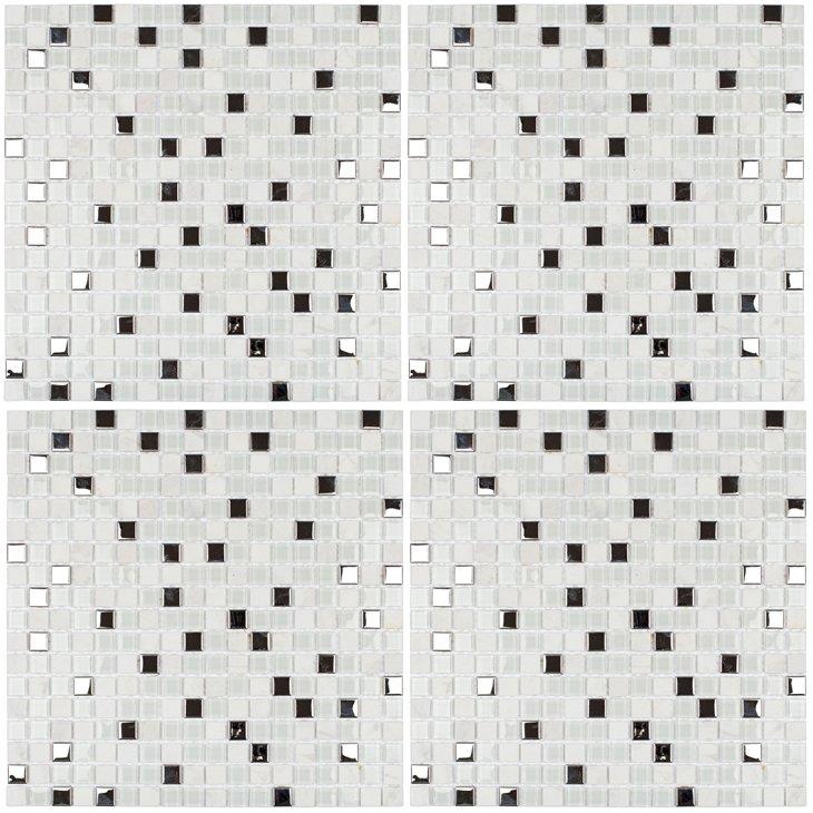 Pastilha Glass Mosaic Slim, SMG100 30,5 x 30,5 cm