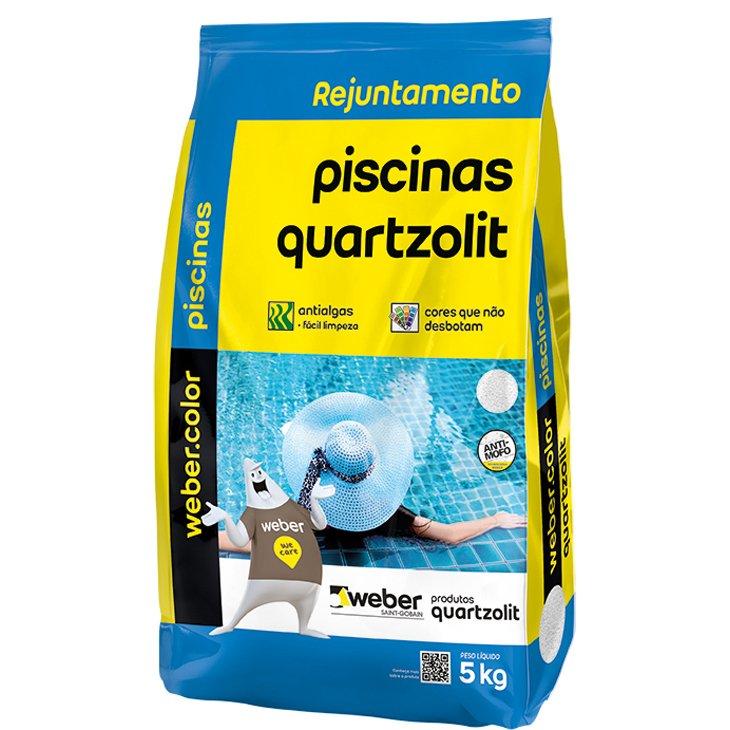 Rejunte para Piscina Quartzolit, Azul Celeste, 5 Kg