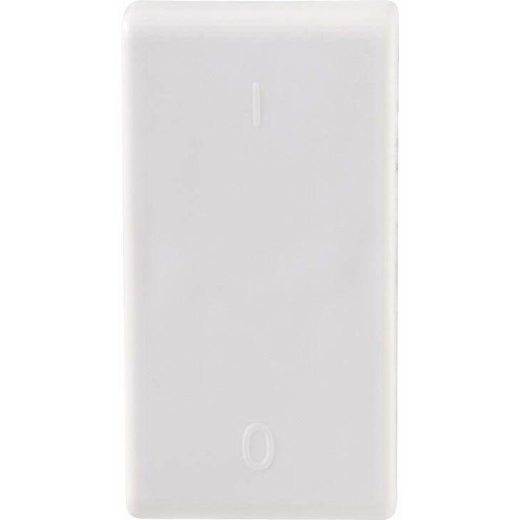 Interruptor Bipolar Simples 10A Tramontina Lux² Liz, Branco